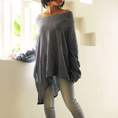 Sassy me long... linen cotton blend by cocoricooo on Etsy, $43.00