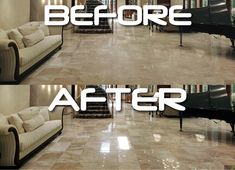How to polish marble. How to polish marble floors. Before and after images after polishing marble. One needs to know how to polish marble in right sequence to get the glossy finish.