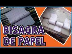 BISAGRAS DE PAPEL RECICLADO DIY - YouTube