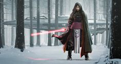 """rhubarbes: """"ArtStation - The Wolf, by Todd Hebenstreit More about star wars here. """""""