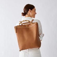 Bamboo Elisabetta Convertible Backpack | Mark and Graham