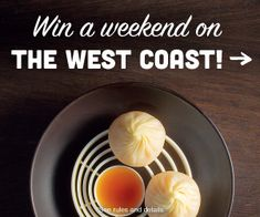 Win a weekend on the West Coast! Prize includes: airfare, hotel stay, dining experience, and more. Enter now: tastingtable.com/westcoast