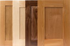 Shaker doors with TaylorCraft's beveled inside edge collect less dust and are easier to clean and have less finish issues (halo effect) on panel compared to a square, 90 degree inside edge Shaker Style Cabinet Doors, Kitchen Cabinet Door Styles, Shaker Doors, Shaker Cabinets, Cabinet Makers, Panel Doors, Hardwood Floors, Cabinet Ideas, Halo