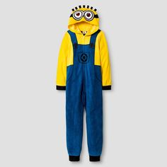 Boys' Despicable Me Minions Footed Sleeper - Multi-colored 10, Boy's, Multicolored