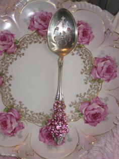 beautiful dish & spoon