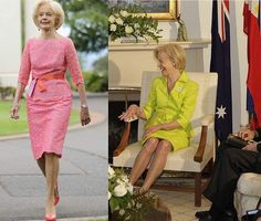 quentin bryce Pink Lace, Role Models, Style Icons, Fashion Models, Nice Dresses, Lace Skirt, Yves Saint Laurent, Personal Style, Real Estate