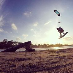 Video in Bio!  If you always do what inspires you you will never feel burt out and always feel like your life has purpose. #GoPro #BeAHero #KiteBoarding #OzoneKites #TonaLife