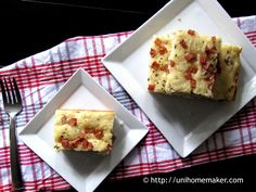 Parmesan Ham and Thyme Bread