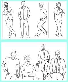Men's posing ideas