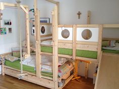 Billi Bolli room inspiration home loft beds kid and
