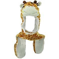 Giraffe Socks and Hats for Girls