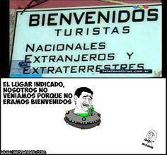 ★★★★★ Memes graciosos para facebook 2016: Por eso no venían los extraterrestres I➨ http://www.diverint.com/memes-graciosos-facebook-2016-venian-extraterrestres/ →  #internetmemesenespañolchistosos #memesdivertidosparacompartir #memesenespañol #memesenespañolcomics #memesfrasesgraciosas