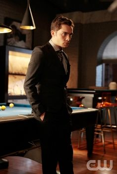 """Inglorious Bassterds""  Pictured: Ed Westwick as Chuck  Photo Credit: Giovanni Rufino/ The CW  © 2010 The CW Network, LLC. All Rights Reserved."