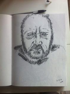 Old man - pen