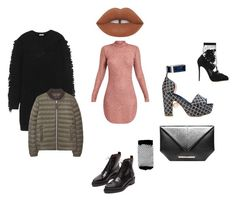 """""""Today"""" by thispersonsays ❤ liked on Polyvore featuring Nicholas Kirkwood, Kenzo, MANGO, Roland Mouret, Acne Studios, Dolce&Gabbana and ASOS"""