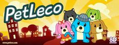 A 8D Games acaba de lançar o PetLeco! Um game infantil com finalidade educativa.
