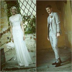 Bride & Groom - Castello di Vincigliata- Weddings in Florence