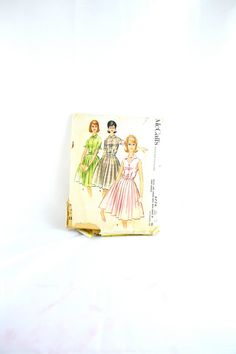 1960s Vintage McCall's Pattern 5774 Misses by TabbysVintageShop, $10.00