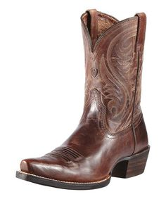 Take a look at this Sassy Brown Willow Boot - Women by Ariat on #zulily today!Tiana check these out!
