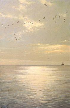 Landscape Painting by Russian Artist Peter Bezrukov ~ Blog of an Art Admirer