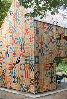MY HOME AS ART: Pattern Houses