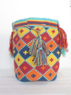 Mochila Wayuu by Taschenparadies on Etsy