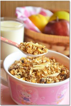 Homemade Museli / Granola - A Healthy Breakfast