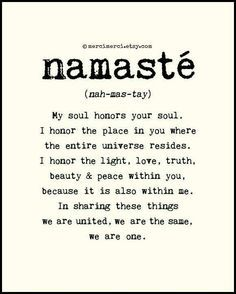 Namaste. My prayer before I give Reiki #Reiki #reiki www.francovoyance Facebook page ow.ly/pohUj