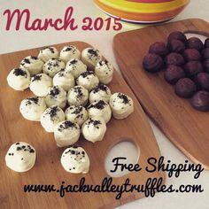 Delicious Truffles- organic, non-GMO, fair-trade ingredients. Free Shipping March 2015! www.jackvalleytruffles.com