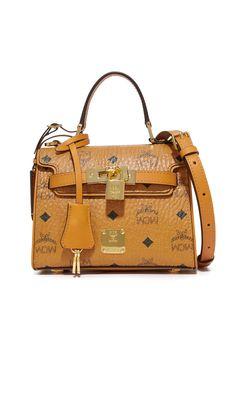 Heritage Satchel. Mcm HandbagsShoulder StrapSatchelCarry ... f30502db76241