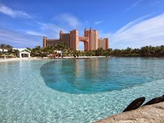 Atlantis Resort in Paradise Island in the Bahamas. How to stay here on a budget - www.sistersinthesand.com