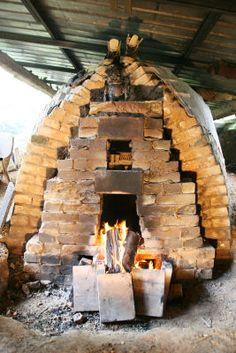 Linda De Nil's kiln, Belgium