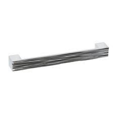 poignée classique en métal - nickel brossé - c. à c. 96 mm ... - Poignee Meuble Design