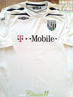 2af9d7cc420 10 Best Classic West Bromwich Albion Football Shirts images in 2019 ...