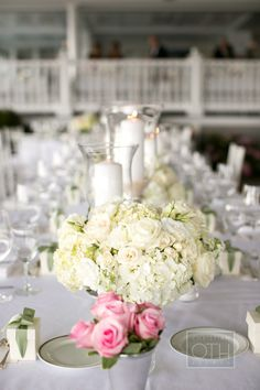Belle Haven Wedding/ Wedding Reception/ Bridal Table/ Greenwich, CT