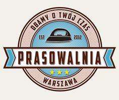 Prasowalnia logotyp #ironing company www.prasowalnia.pl