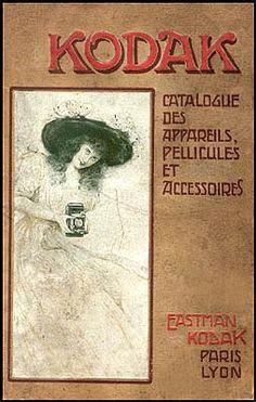 c. 1902 Kodak Catalog, French. Collection of David Scheinmann, England.
