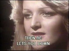 BONNIE TYLER ~IT'S A HEARTACHE~  always loved this song! My mom really did have great taste in music, & as much as she danced around , she loved to dance too