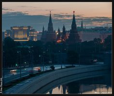 Moscow Skyline 3 by Jorge Dieguez on 500px