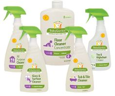 Babyganics Cleaning Supplies