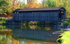 Fallasburg Covered Bridge in Lowell, MI