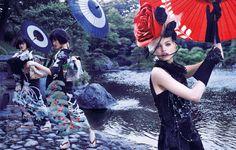 Photographer: Mark Segal  Magazine: Vogue Japan  Model: Daphne Groeneveld
