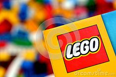 AUCKLAND, NZ - MAR 11 2014:Illustrative editorial photo of Lego logo .The LEGO bricks of today still fit perfectly with the one that was created more than 50 years ago in 1958.