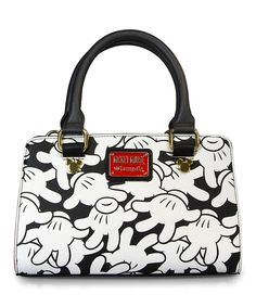 Mickey Mouse Hands All Over Crossbody Bag by Mickey Mouse #zulily #zulilyfinds