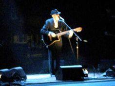 Old Ideas Tour ~ Leonard Cohen, Suzanne ~ Arena di Verona  9.24.2012