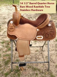 Scott Thomas Custom Barrel saddle.