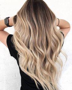 Brown Hair Balayage, Blonde Hair With Highlights, Brown Blonde Hair, Hair Color Balayage, Blonde Balayage, Hair Colour, Balayage Hairstyle, Blonde Hair Shades, Blonde Hair Looks