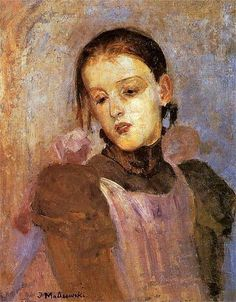 Jacek Malczewski, the artists daughter