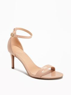 Sueded Ankle-Strap Sandals for Women   Old Navy
