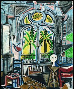 Picasso infinito   Fotogalería   Cultura   EL PAÍS  'El taller', 1955.Óleo sobre lienzo, 80,9 x 64,9 cm. Tate: Presentado por Gustav y Elly Kahnweiler en 1974, añadido a la colección en 1994. © TATE, LONDON 2014 / SUCESIÓN PABLO PICASSO, VEGAP, MADRID, 2014